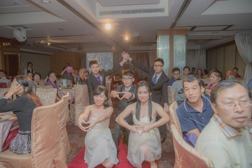 台北婚攝傑斯[結婚宴客]:伴郎、伴娘群