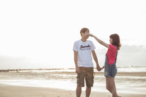 海灘便服婚紗照-台北婚攝JESS傑斯